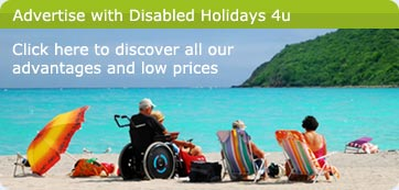 Disabled Holidays 4u advertising information